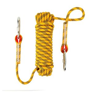 NIECOR 10 MM Outdoor Static Rock Climbing Rope, High Strength Accessory