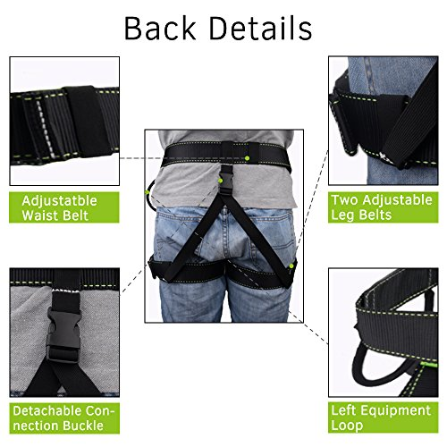 Half Body Beginner Harness Safety Belt Harness For
