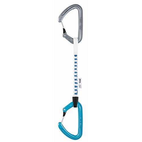 Petzl - ANGE FINESSE, Quickdraw with Ultra-light Climbing Carabiners