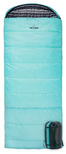 TETON Sports Celsius Regular Sleeping Bag; Great for Family Camping