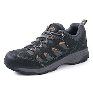 TFO Men's Outdoor Hiking Shoe Non-Slip Breathable Backpacking Camping Running Athletic Trekking Shoe Deep Gray