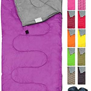 Ultralight Sleeping Bag by RevalCamp for Kids, Youth and Adults