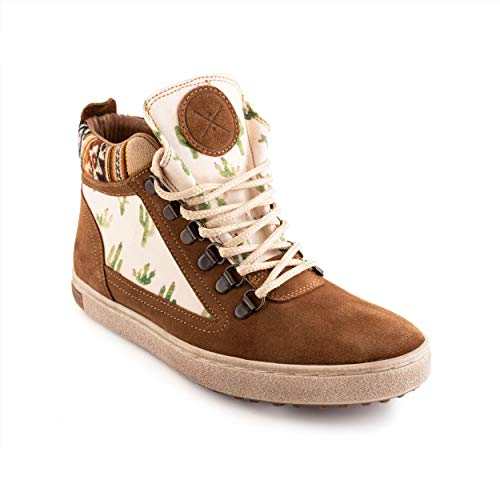 Inkkas - Prickly Camping Boot - Handcrafted Artisan Women's and Men's Rugged and Durable Leather Shoes (Numeric_7)