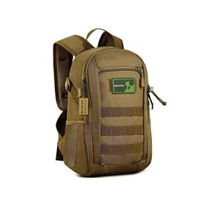 Huntvp 10L Mini Daypack Military MOLLE Backpack Rucksack Gear Tactical Assault Pack Bag for Hunting Camping Trekking Travel