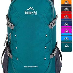 Venture Pal 40L Lightweight Packable Travel Hiking Backpack