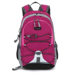 Small Size Waterproof Sport Backpack,10 inches Lightweight Ultra Light backpack, Suitable for Height Under 4 feet, for Girls Boys Traveling (Rose Red)