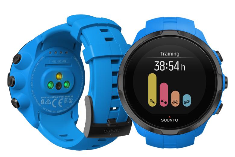 De Suunto Spartan Sport Wrist HR is een sporthorloge dat is uitgerust met optische polshartslagmeting.