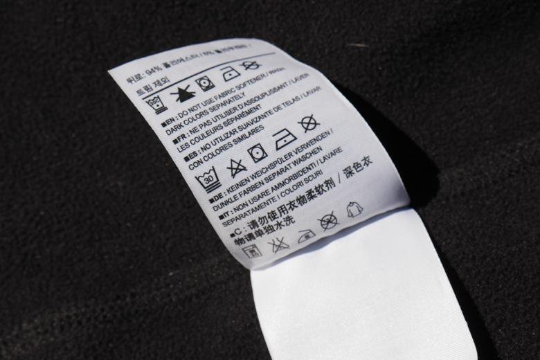Voor het wassen en revitaliseren van de DWR-coating volg je het was label van het Arc'Teryx Gamma MX Jacket.