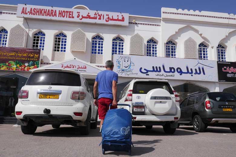 De Lowe Alpine AT Wheelie 90L bleek op een reis door Dubai en Oman een prima transport middel.