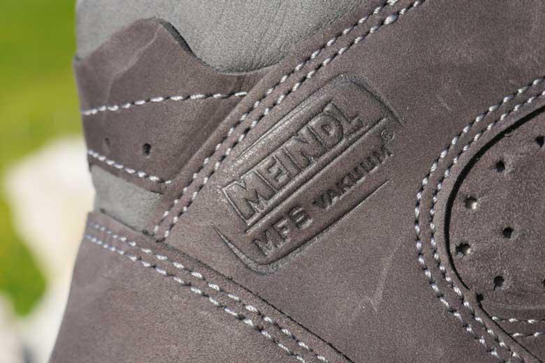 Dankzij het Meindl Memory Foam Vakuum systeem zitten de schoenen als pantoffeltjes.