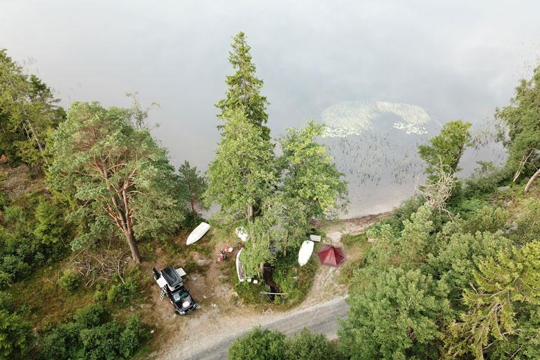 De Tentipi Olivin 2 Combi heeft zich in Zweden een maand mogen bewijzen.