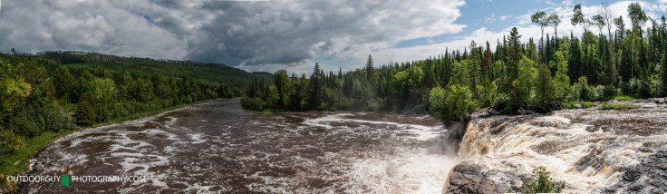 Middle Falls - Canadian side