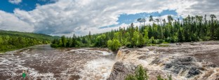 Middle Falls - Pigeon River