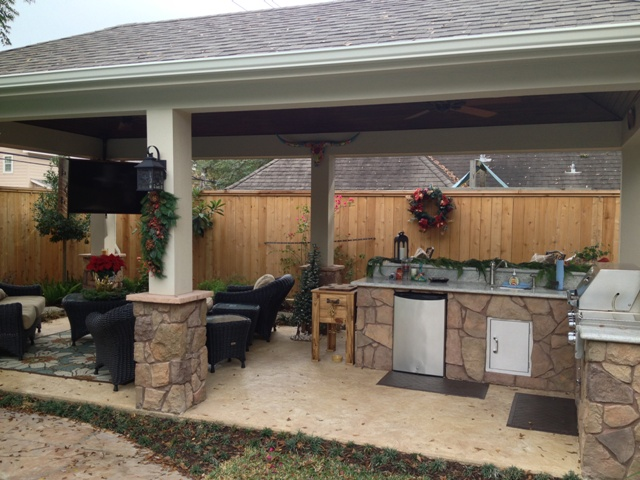23 Outdoor Living Spaces of the Month Archives ... on Covered Outdoor Living Area id=39765