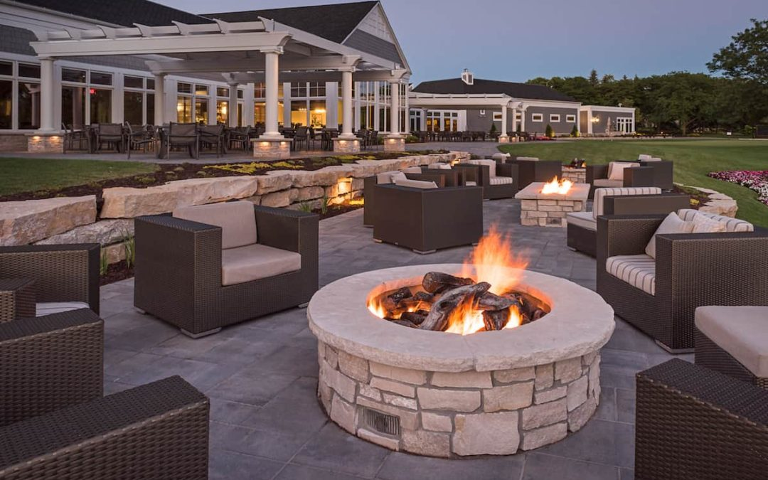 The Ultimate Bonfire Experience: Paver Patio & Fire Pit ... on Pavers Patio With Fire Pit id=25743