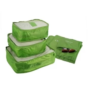 6 in 1 Luggage Bag Clothes Organizer