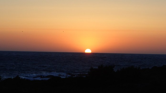 Sonnenuntergang Ostriconi