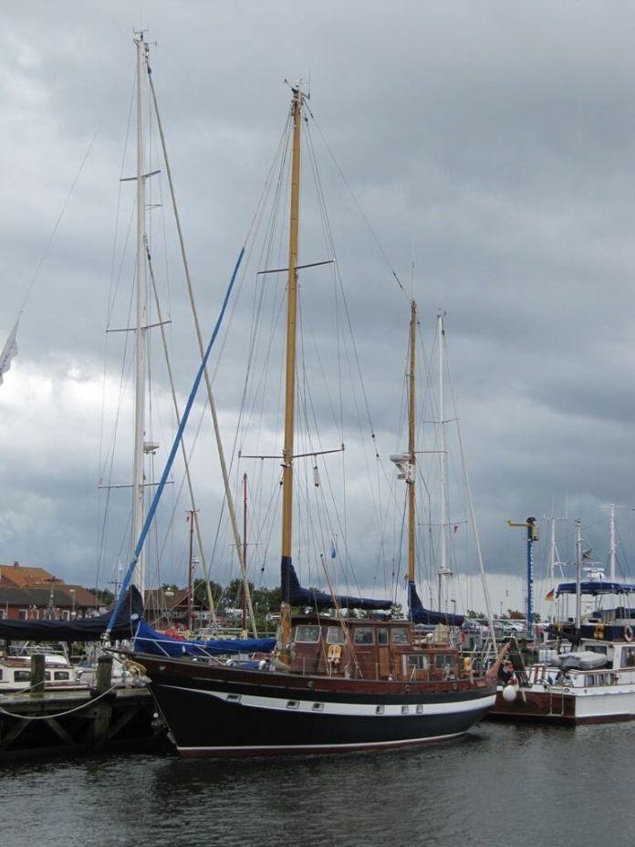 Maasholm Hafen