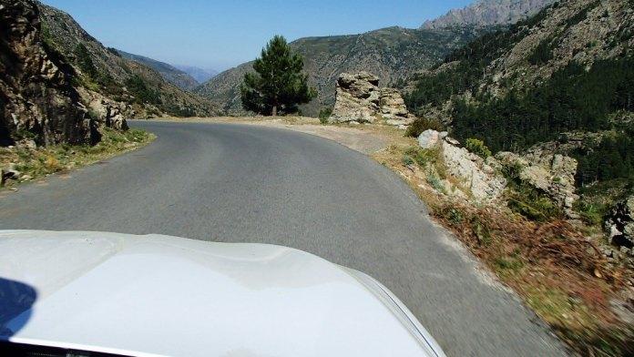 Bergstraße Korsika