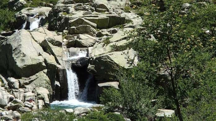 Wasserfall Korsika