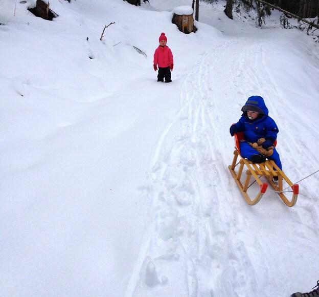 winterwandern mit Kindern Winterwanderungen
