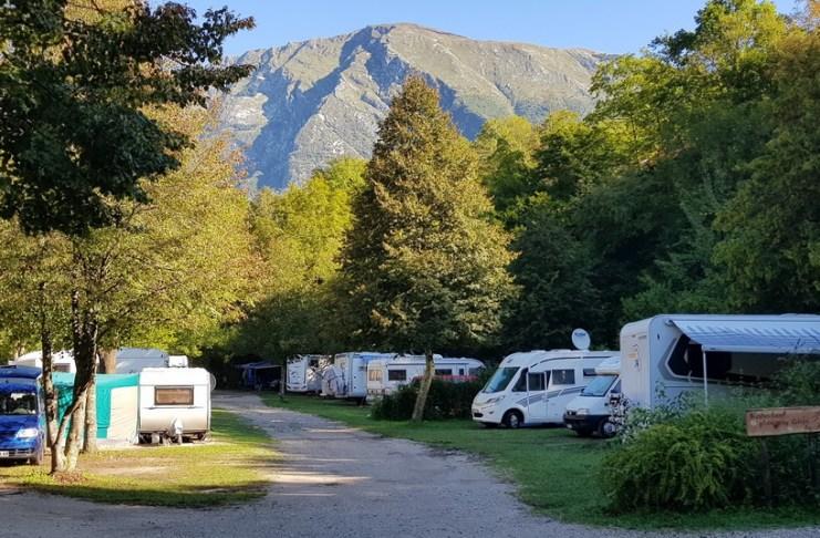 Camp Koren Soča Slowenien Kobarid