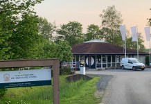 Eingangsbereich Camping Vakantiepark De Zeeuwse Parel