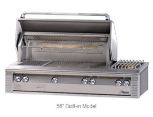"Alfresco 56"" Deluxe Grill Model #ALX2-56 Sear Zone #ALX2-56SZ"