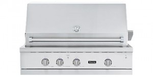 Viking 42 inch grill with burner VGIQ542241NSS