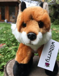 Soft Mr Fox Toy