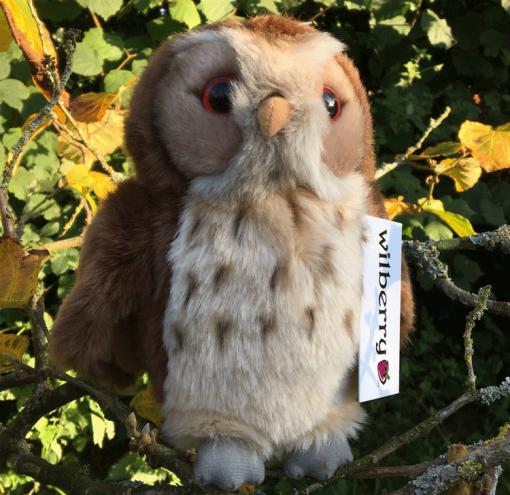 Soft Tawny Owl Toy