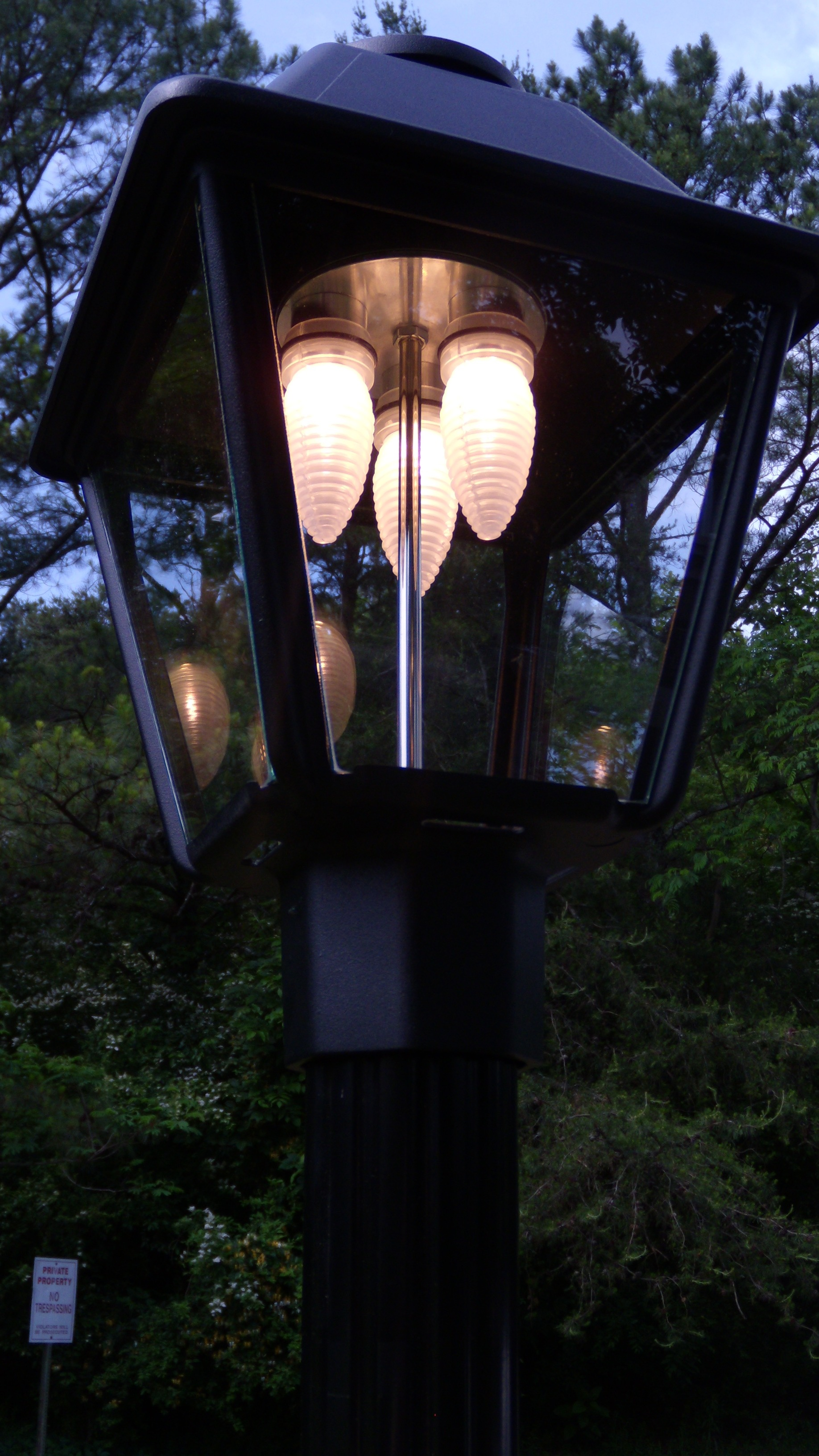 low voltage led lamp posts outdoor