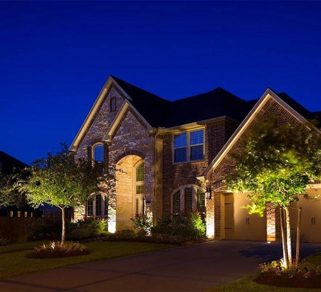 home landscape lighting