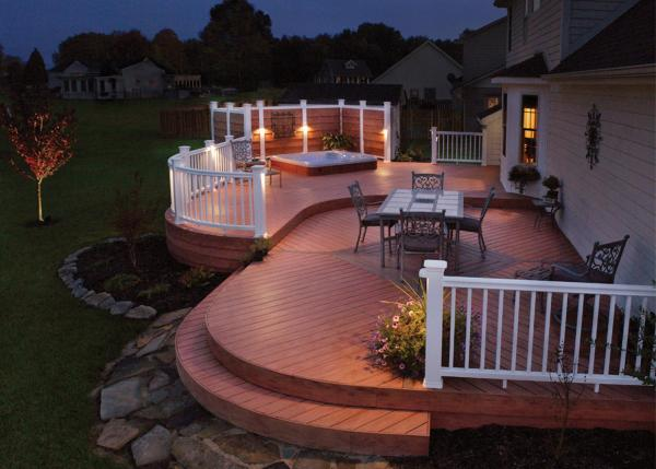 outdoor patio deck Uncategorized   Outdoor Lighting and Landscape Lighting in