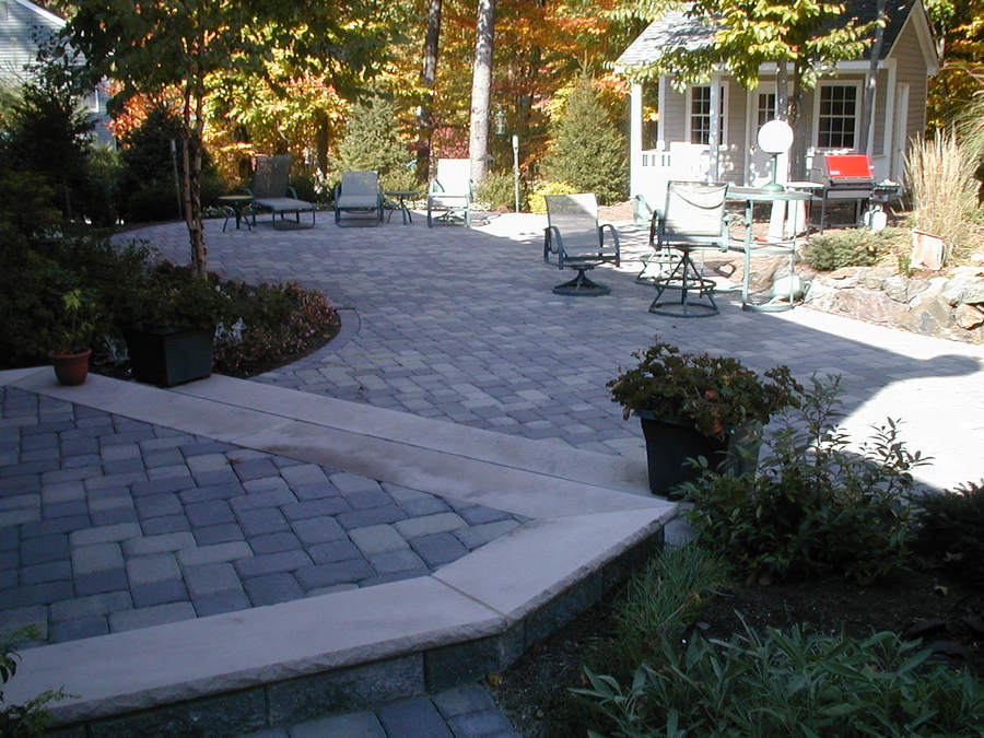 Paver Patio and Steps - Outdoor Living Space - Warren - NJ ... on Warrens Outdoor Living id=28070
