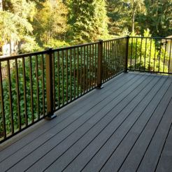 custom deck, Woodinville