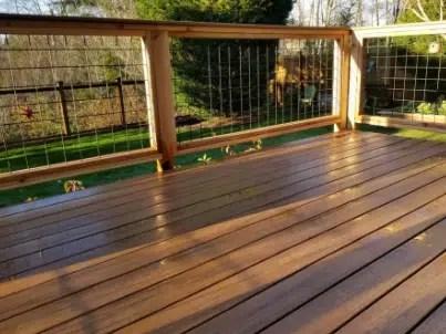 deck railing, deck installation, deck rail