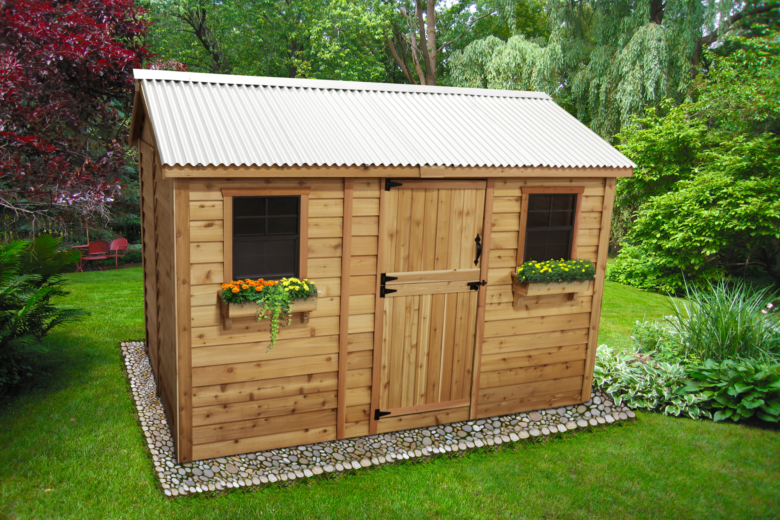 Large Shed for Storage   12x8 - Outdoor Living Today on Outdoor Living Today Cabana id=86145