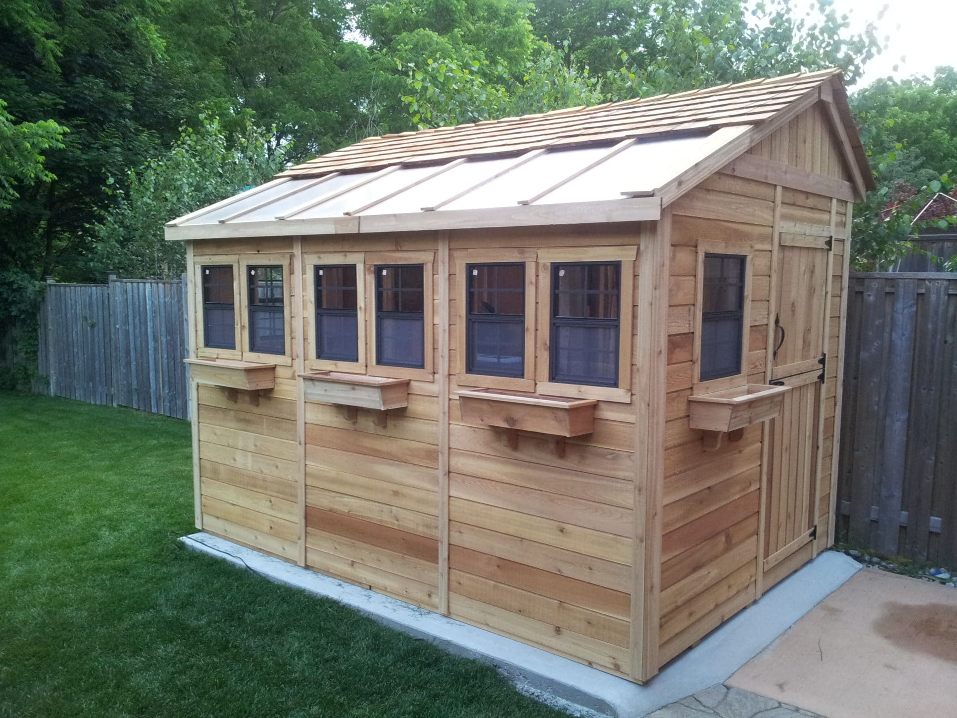 Potting Shed | Sunshed Garden 8'x12' - Outdoor Living Today on Garden And Outdoor Living  id=99895