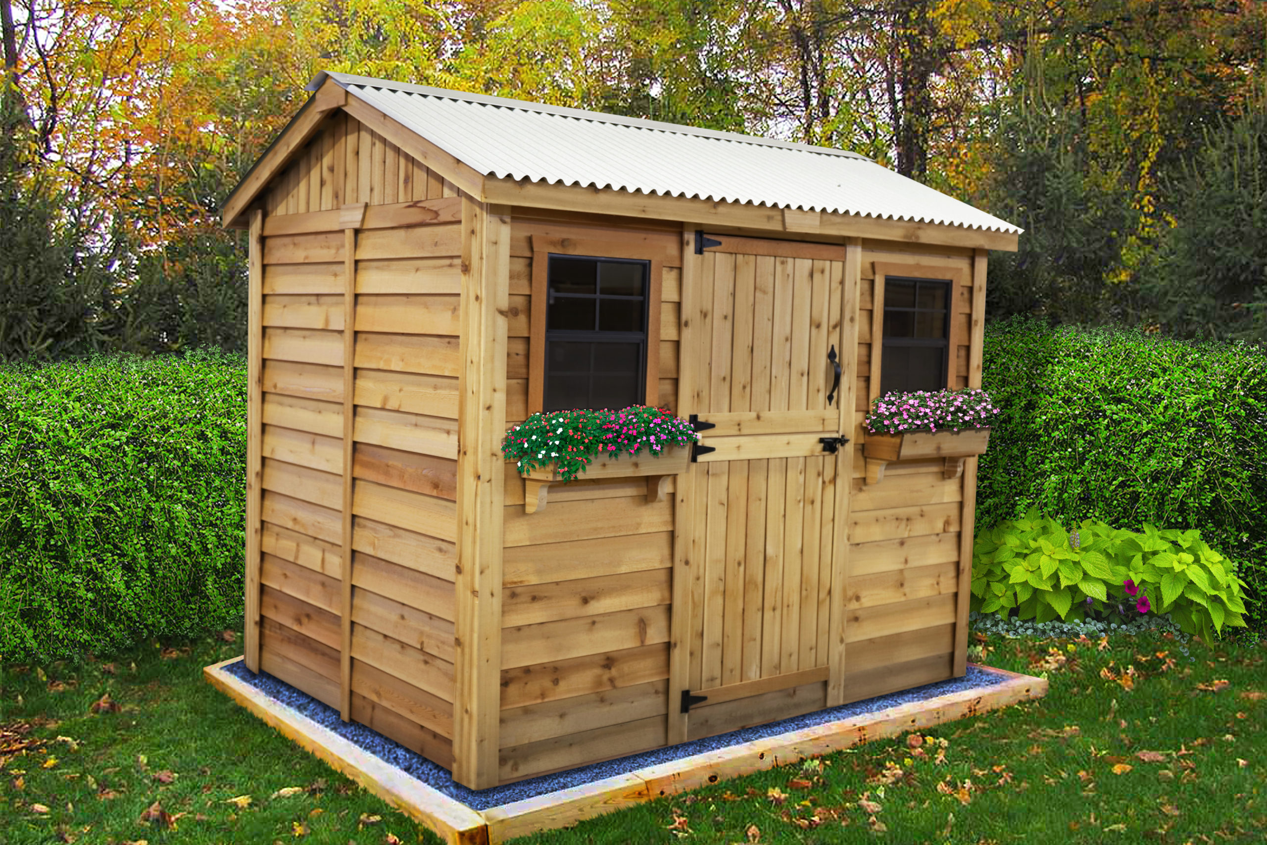 Shed Kits for Sale   9x6 Cabana   - Outdoor Living Today on Outdoor Living Today Cabana id=44205