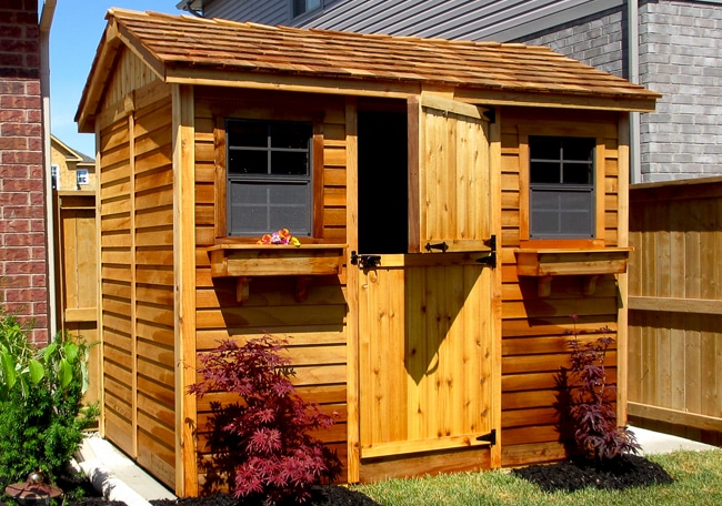 Shed Kits for Sale   9x6 Cabana   - Outdoor Living Today on Outdoor Living Today Cabana id=75695