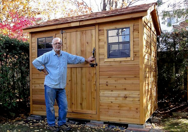 Shed Kits for Sale   9x6 Cabana   - Outdoor Living Today on Outdoor Living Today Cabana id=45780