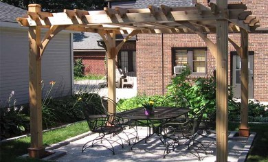 Backyard Pergolas