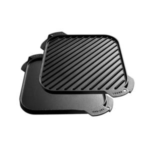 [Lodge] Singer Burner Reversible Griddle 26cm方形煎盤