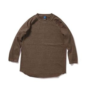 [Good On] 9oz Heavy Baseball 長袖T恤 / Brown