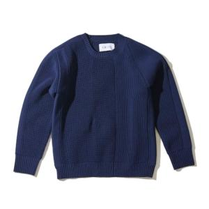 [F/CE] LEFT RIGHT KNIT CREW / Navy (F2002FCMKN0004)