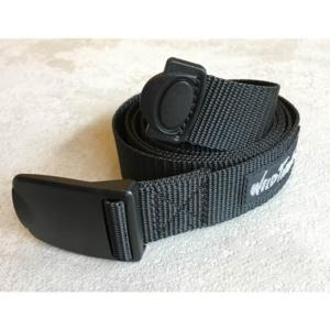 [WILD THINGS] PP WEBBING BELT 織帶皮帶(130cm)/黑(WT19154P-WT01)