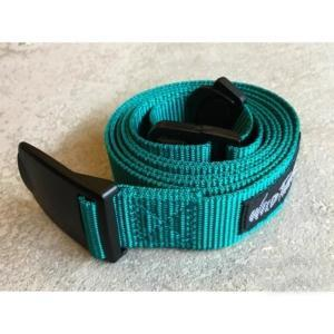 [WILD THINGS] PP WEBBING BELT 織帶皮帶(130cm)/綠(WT19154P-WT03)