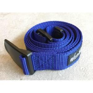 [WILD THINGS] PP WEBBING BELT 織帶皮帶(130cm)/藍(WT19154P-WT10)