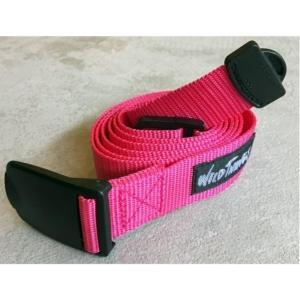 [WILD THINGS] PP WEBBING BELT 織帶皮帶(130cm)/粉紅(WT19154P-WT14)